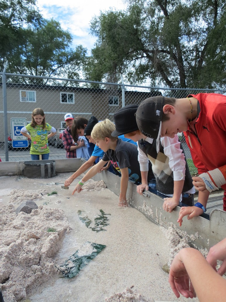 Stream Table Earth Science Week ESW