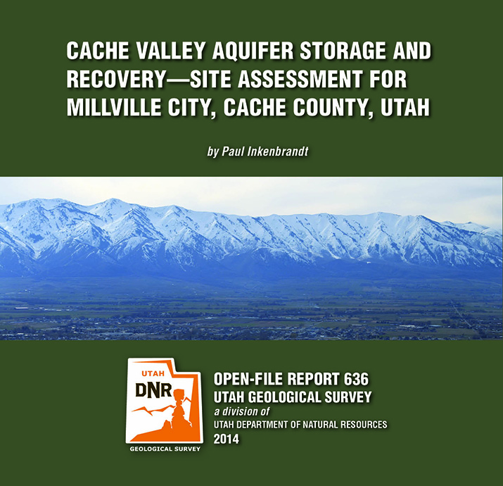 OFR-636 Cache Valley Aquifer, Cache County, Millville City
