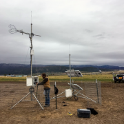 Assembling an Eddy Covariance Station - a climate station to measure water use by plants and evaporation of surface water, data that are critical to calculate the water budgets of hydrologic basins