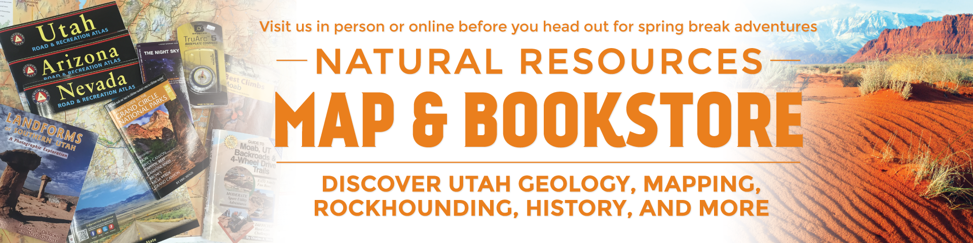 Natural Resources Map & Bookstore