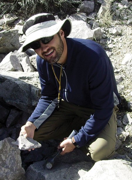Tyler Knudsen, Geologist, Utah Geological Survey.