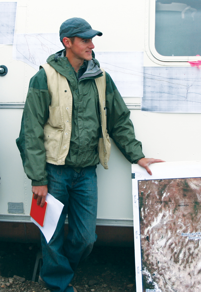 Christopher DuRoss, Geologist, Utah Geological Survey